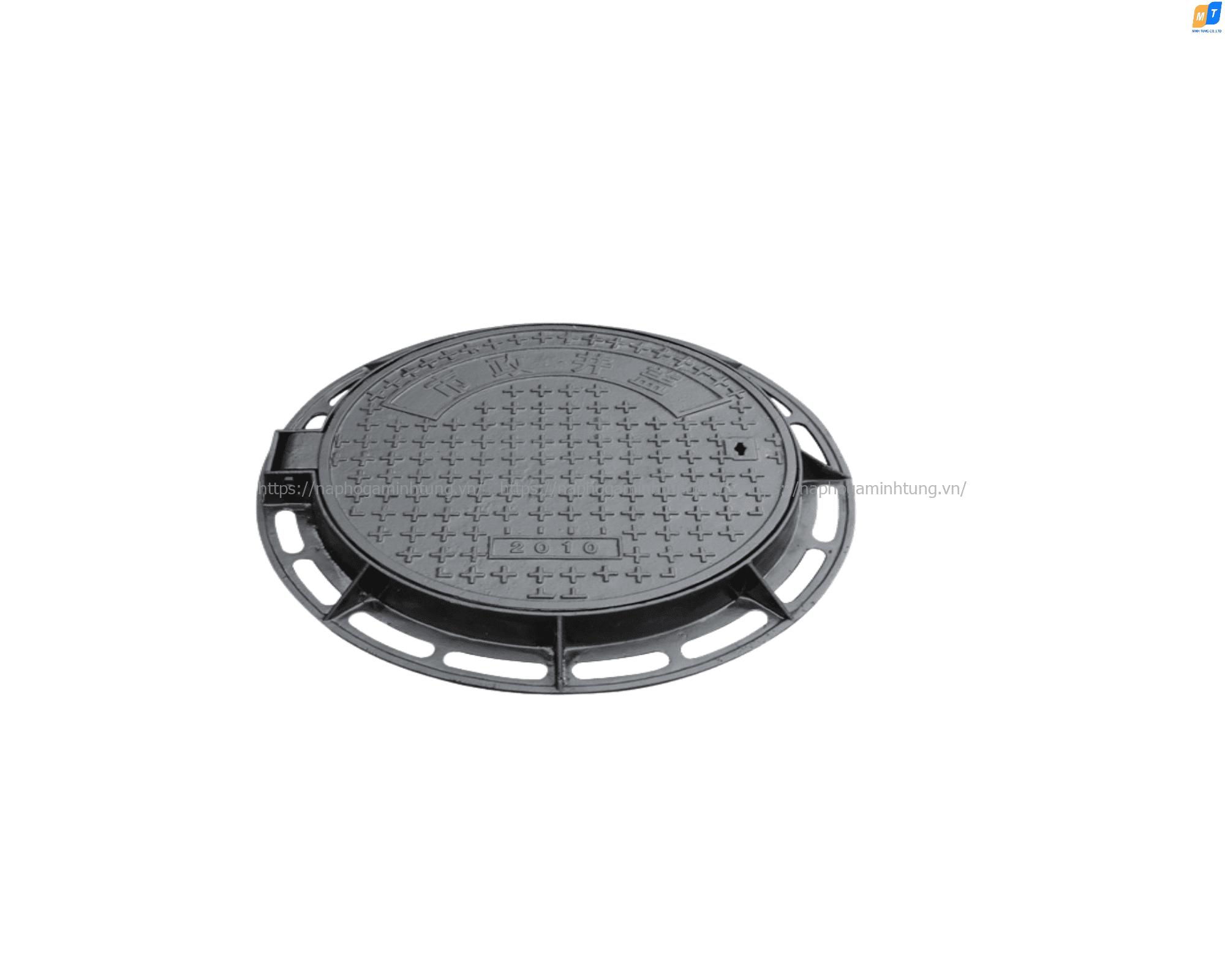 Nắp hố ga composite khung tròn nắp tròn