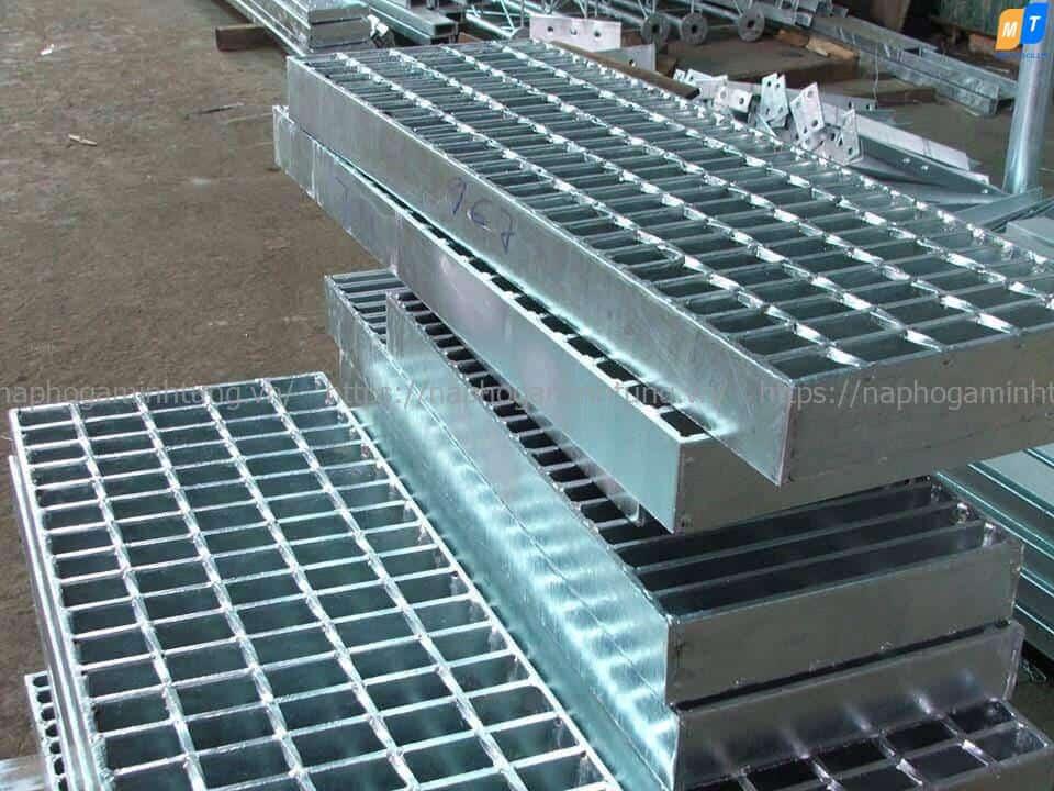 Quy trình sản xuất nắp hố ga grating