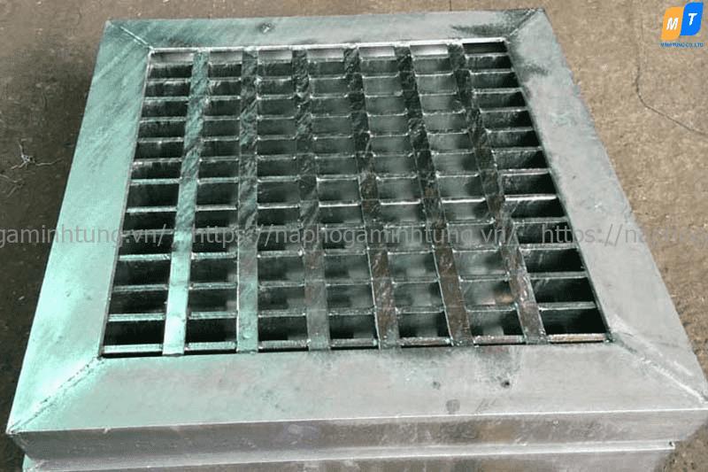 Tấm sàn grating mạ kẽm nhúng nóng